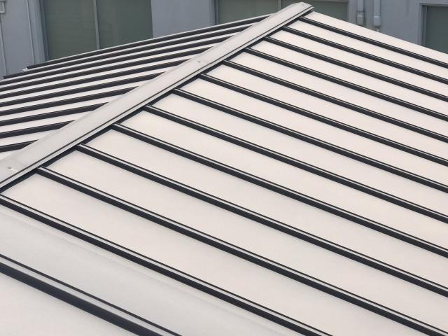 長尺の板金屋根